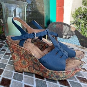 Born patterned wedges